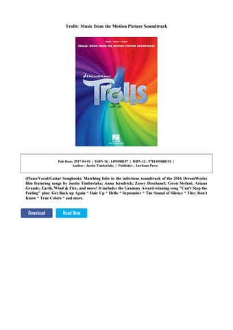 trolls soundtrack download