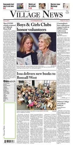 9f8fc17f43d31 Fallbrook Village News by Village News