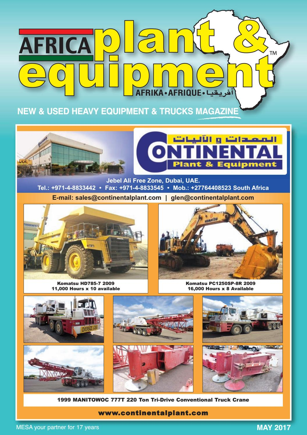 Africa Plant & Equipment - May 2017 Edition