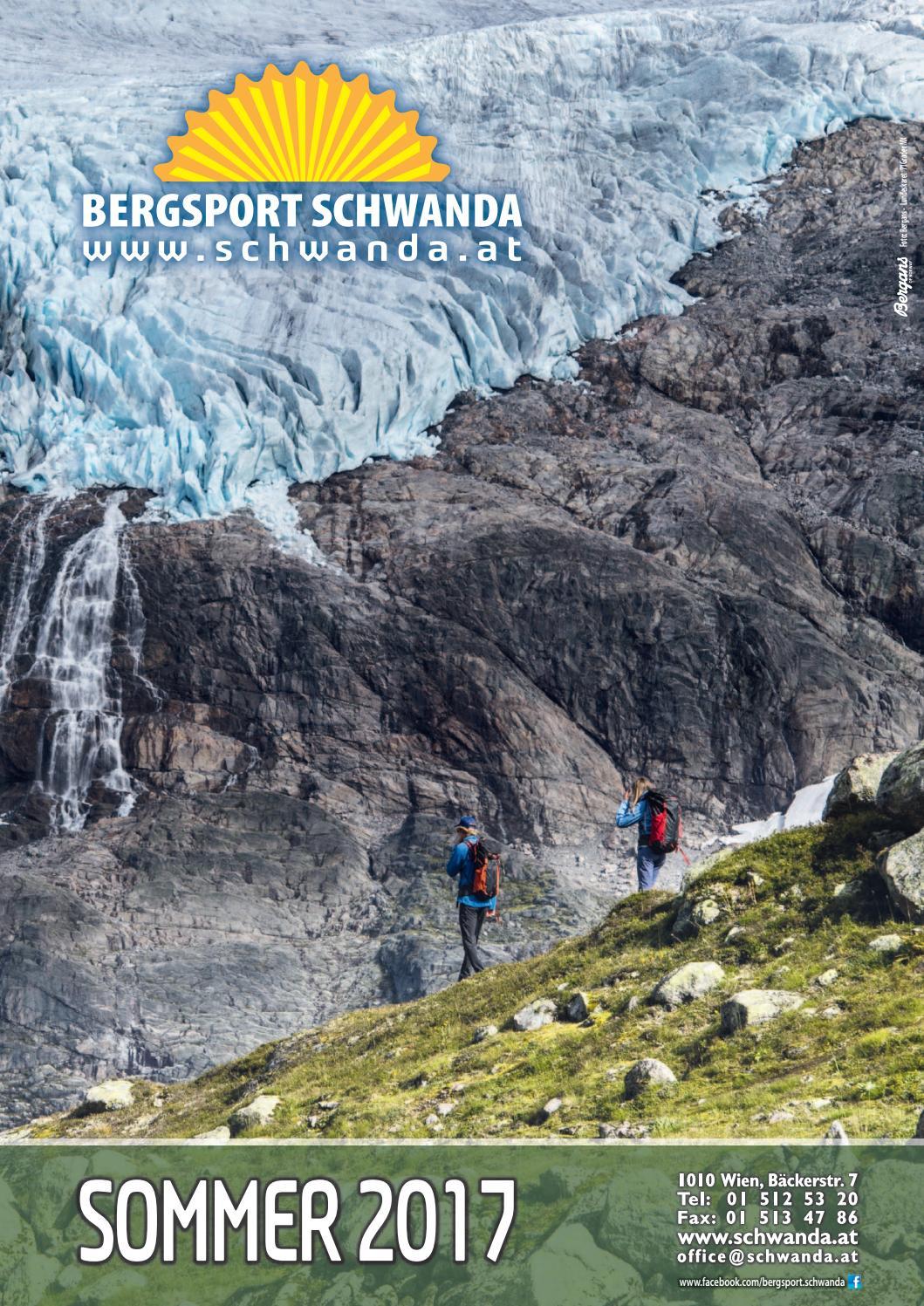 Bergsport schwanda sommer 2017 by Bergsport.Schwanda - issuu