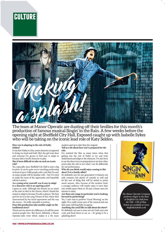 Exposed Magazine May 2017 by Exposed Magazine - issuu