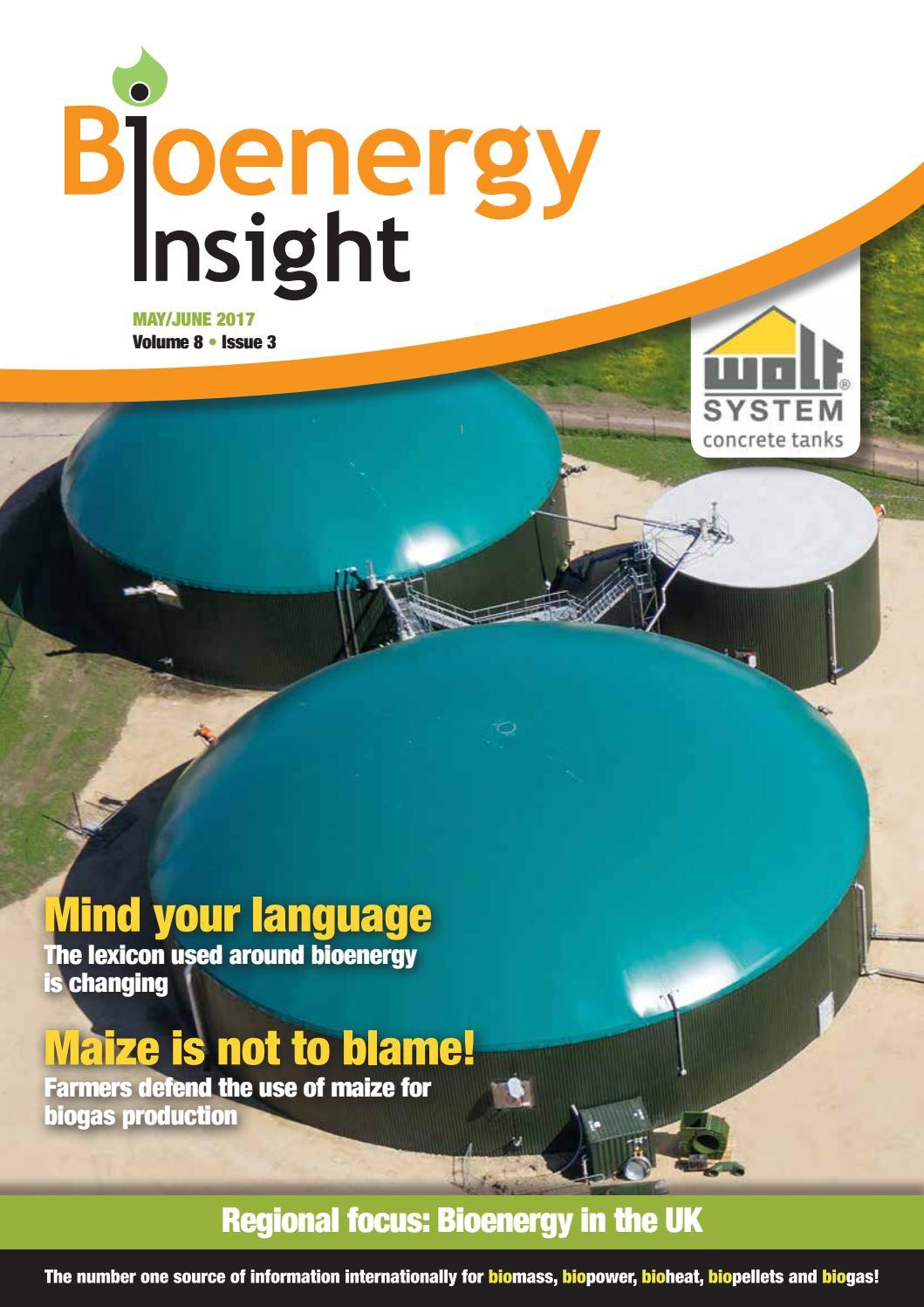 Bioenergy Insight May/June 2017 by Woodcote Media Ltd - issuu