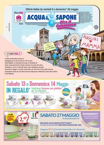 Volantino Acqua&Sapone n.8 by Acqua&Sapone - Oltre la Convenienza ...