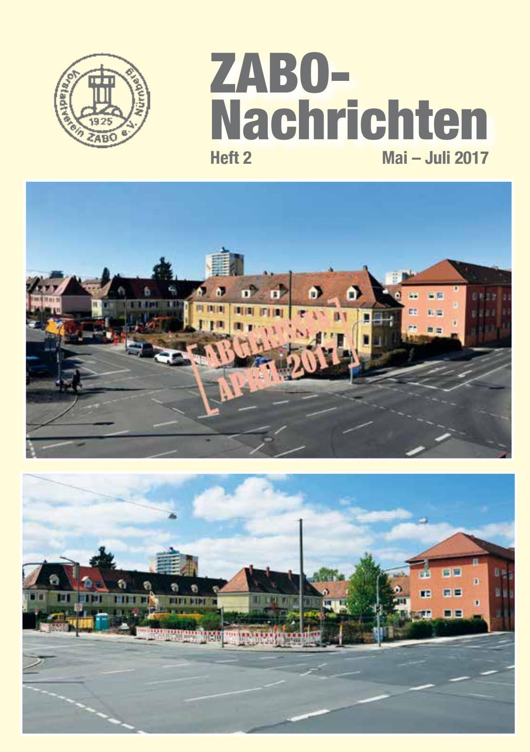 Zabo Nachrichten 2017 Heft 2 By Vorstadtverein Zabo E V
