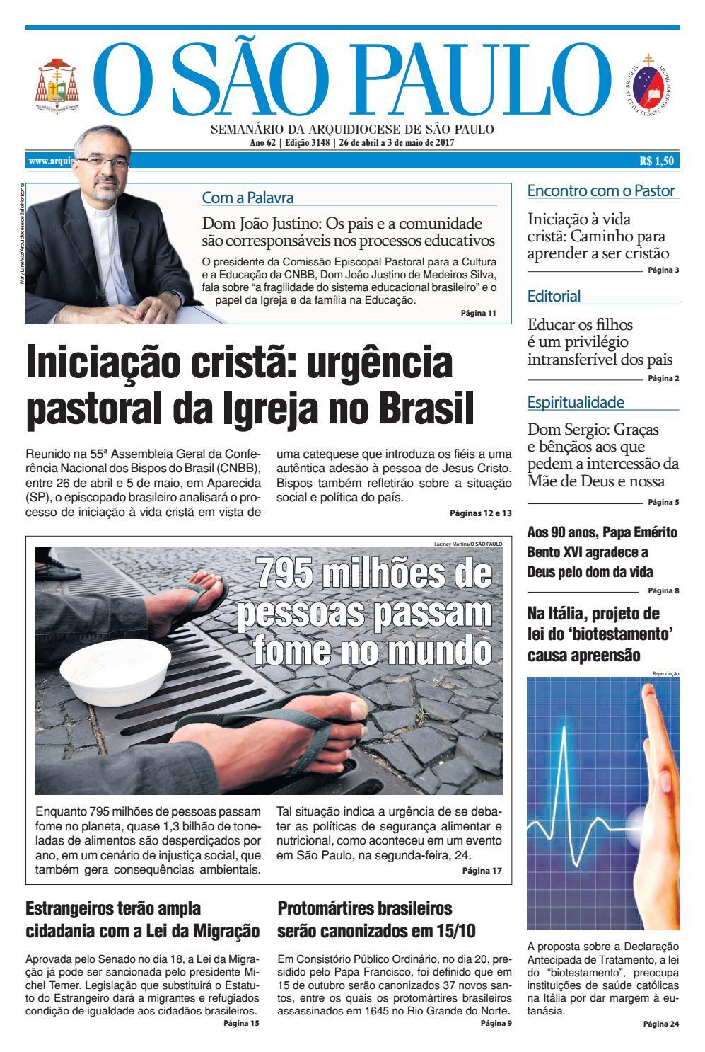 c3ec10632abdc O SÃO PAULO - 3148 by jornal O SAO PAULO - issuu