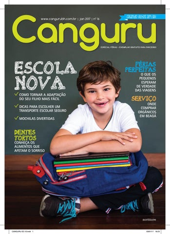 Canguru   BH   Janeiro de 2017   Número 16 by Canguru Online - issuu 3cc4d529ba