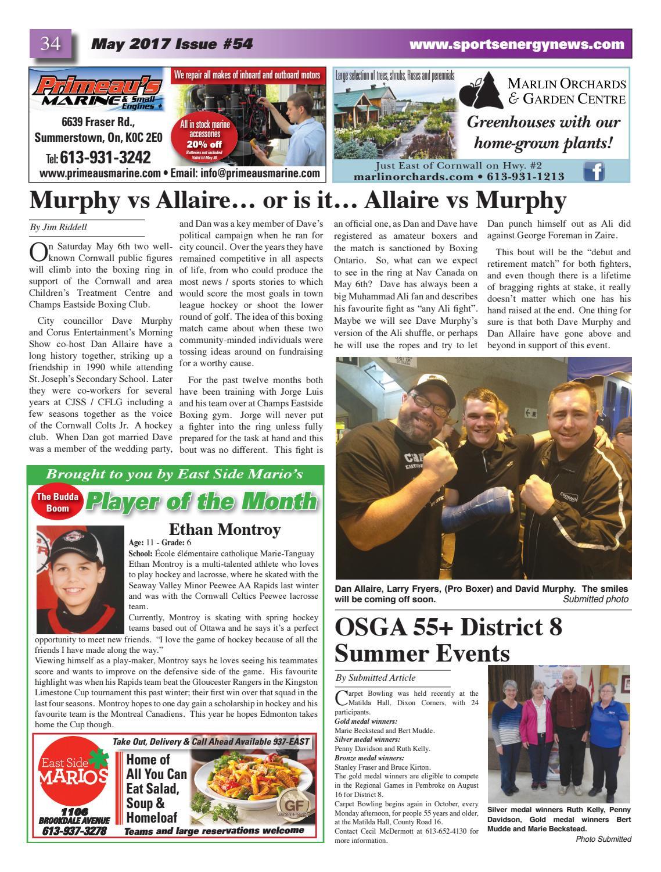 issue no 54 by sportsenergynews issuu