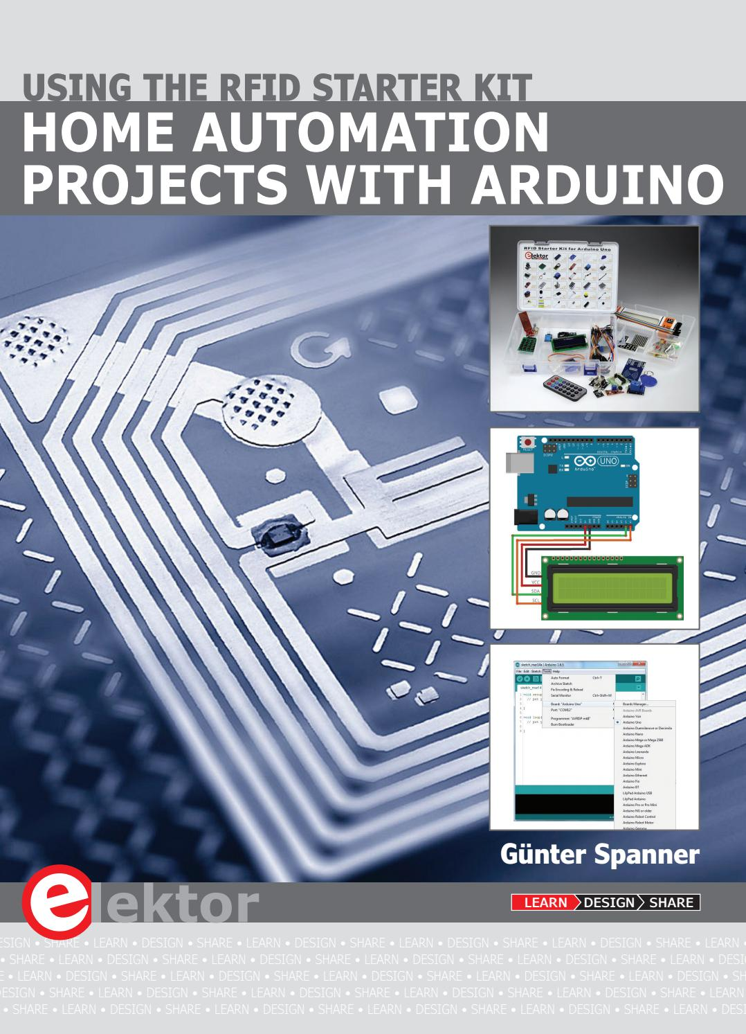 Home Automation Projects With Arduino Using The Rfid