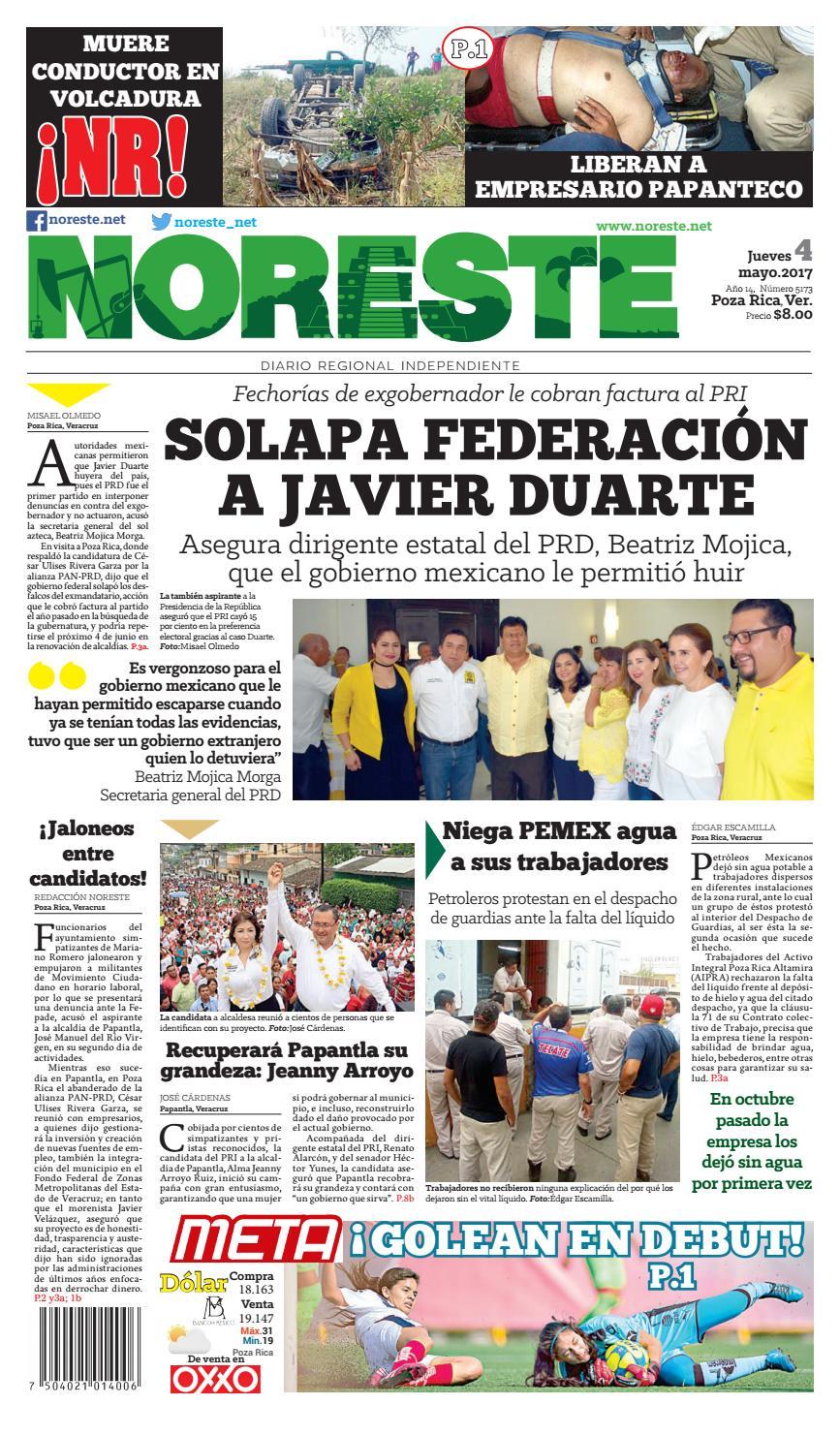 Versi N Impresa 4 De Mayo By Noreste Diario Regional  # Muebles Buganza