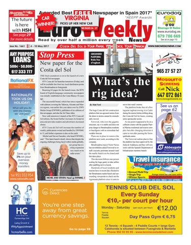 Euro Weekly News Costa Del Sol 4 10 May 2017 Issue 1661