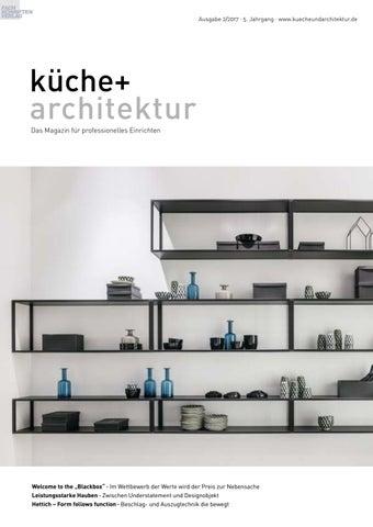 Kuche Architektur 2 2017 By Fachschriften Verlag Issuu