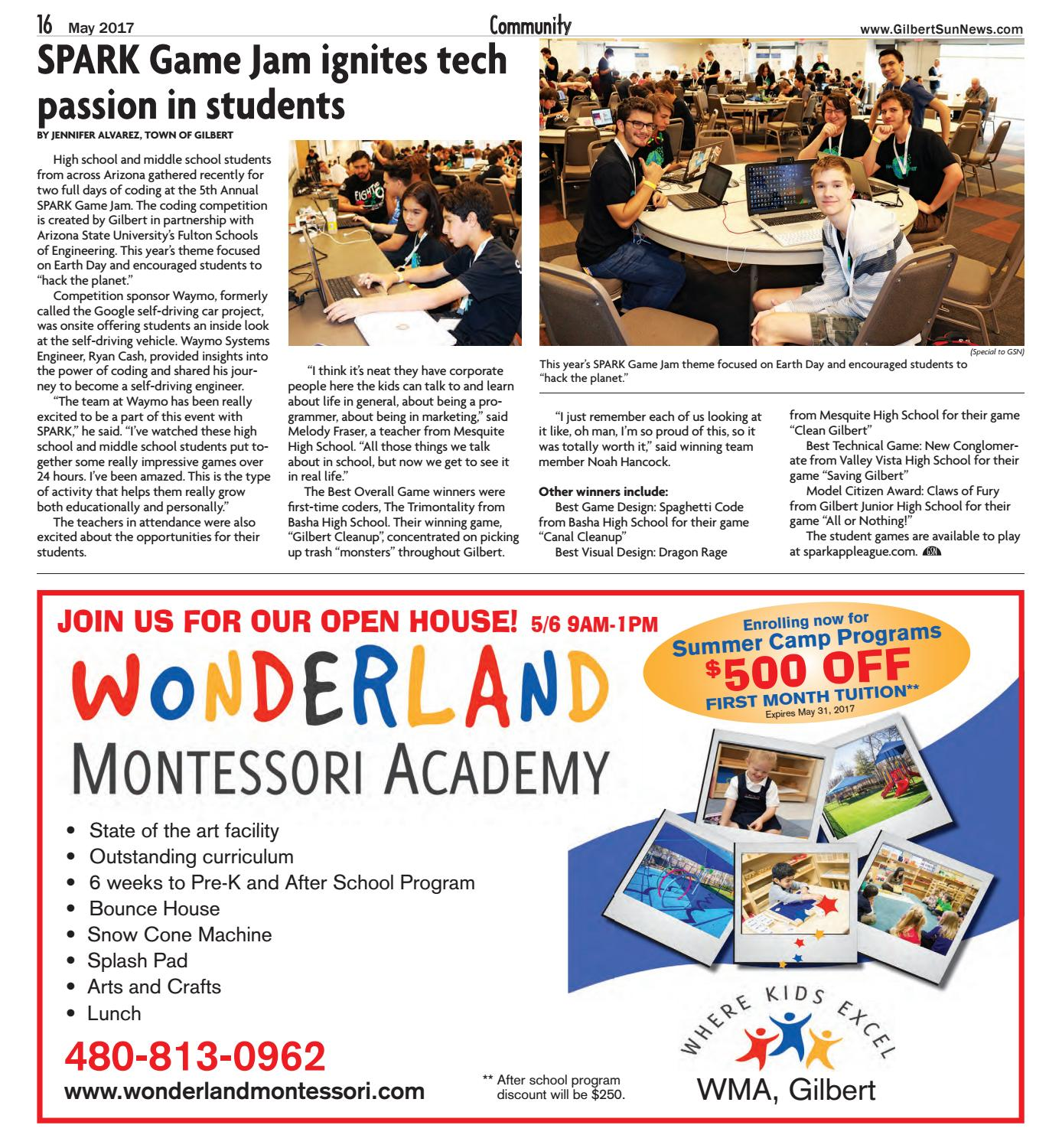 Gilbert Sun News - May 2017 by Times Media Group - issuu