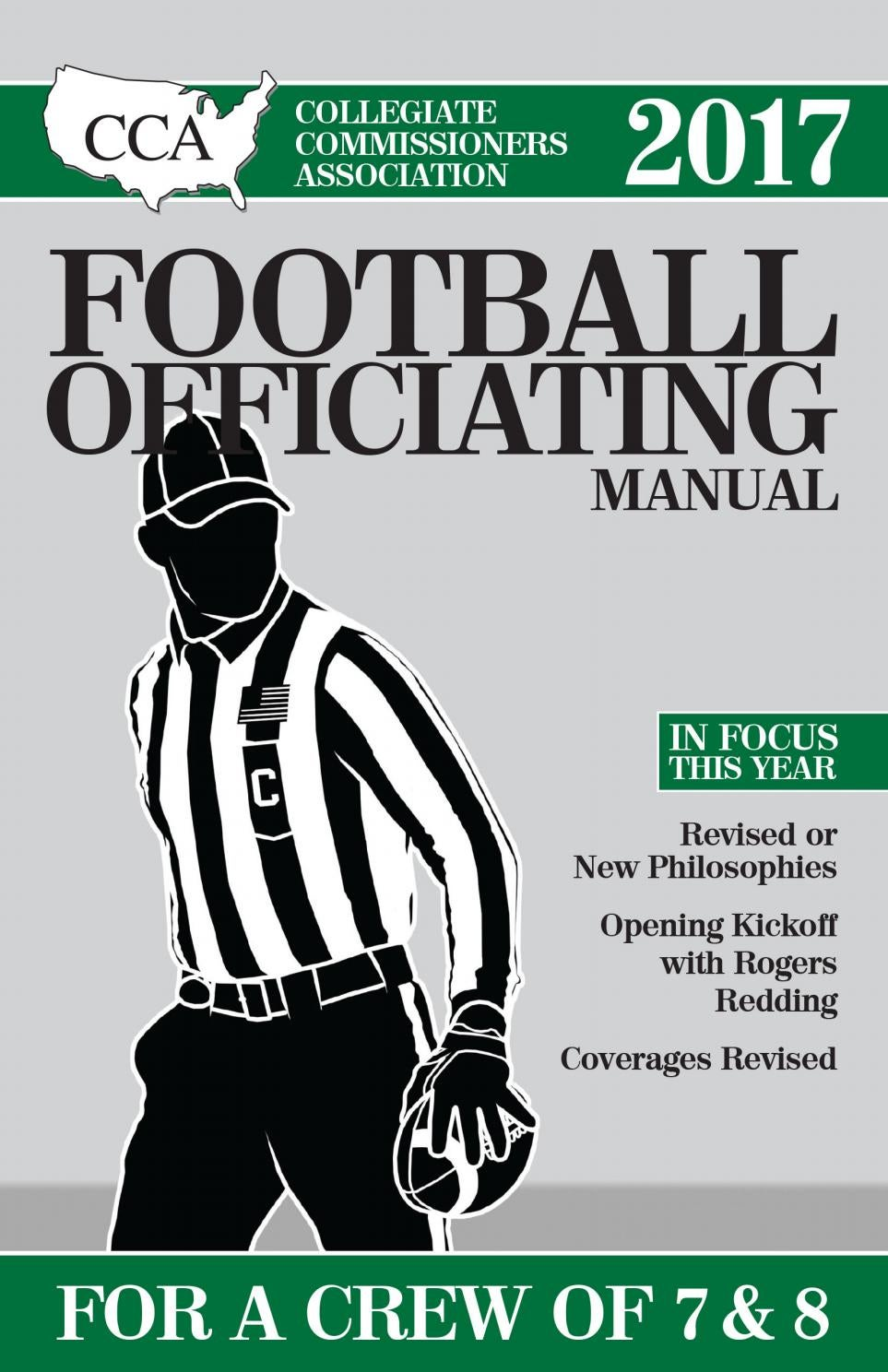 2017 CCA Crew of 7 & 8 College Football Officiating Manual by Referee  Magazine - issuu