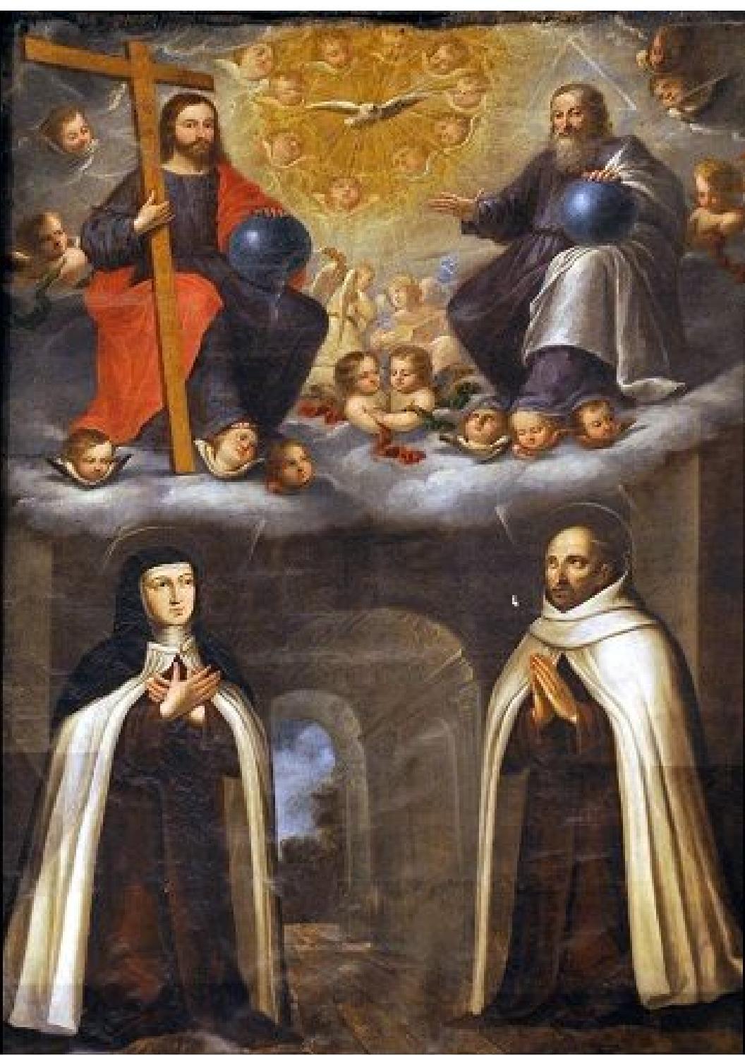 San Juan De La Cruz Y Santa Teresa De Jes U00fas By Maria