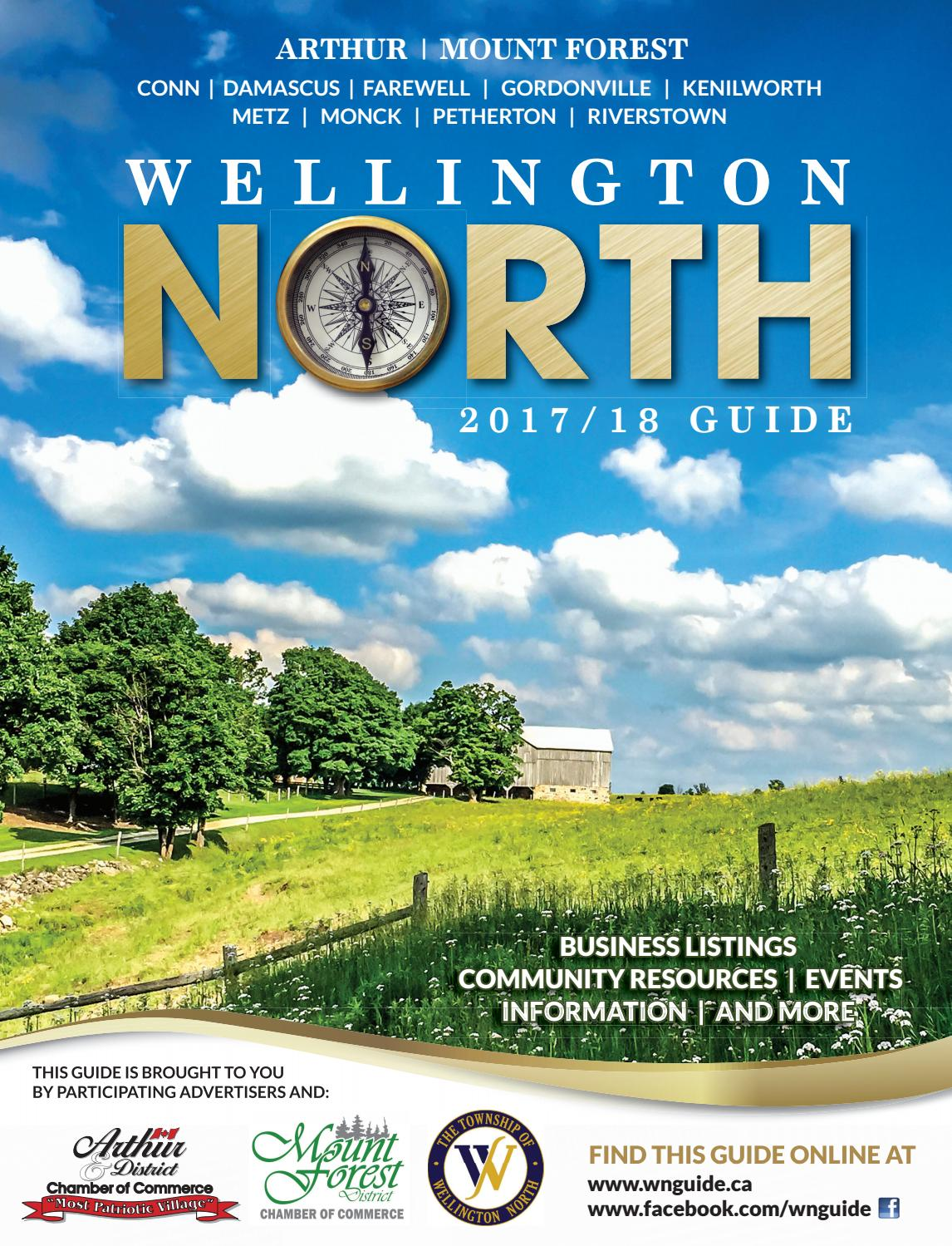 Wellington North Guide 2017-2018 by WHA Publications Ltd. - issuu