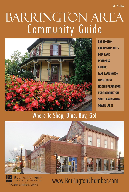barrington il community guide 2017 by town square publications llc