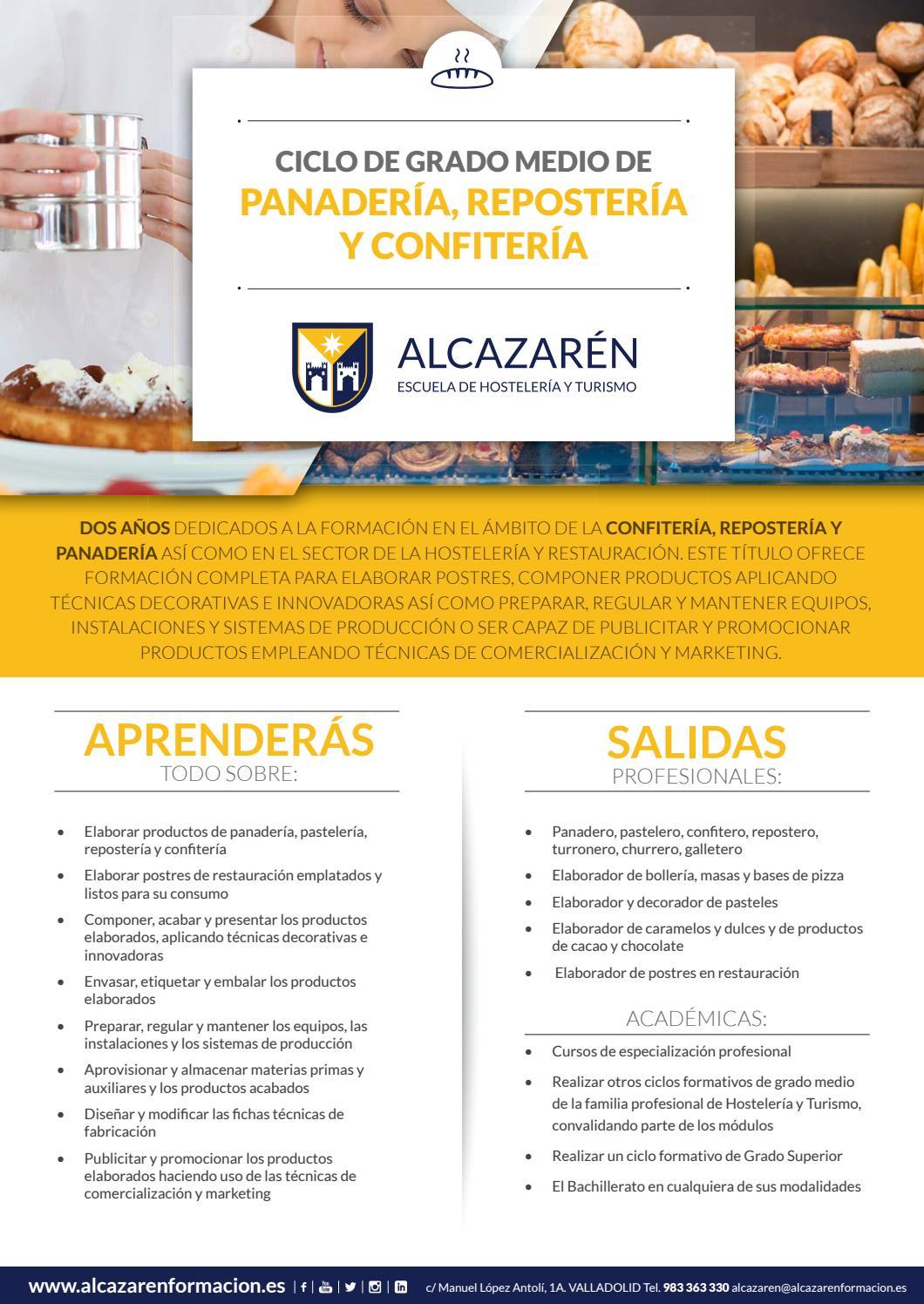 Cgm Panadería Reposteria Y Confitería By Escuela De