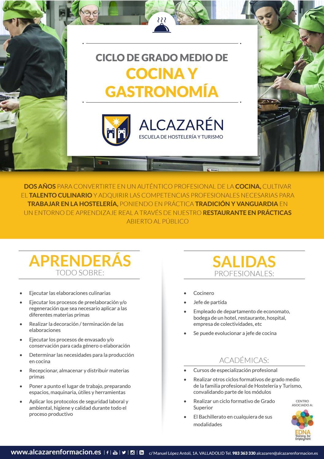 Cgm Cocina Y Gastronomía By Escuela De Profesionales