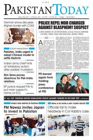 E paper pdf (5 05 2017) (khi) by Pakistan Today - issuu