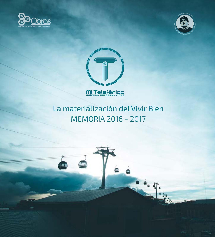 be1953304d Memoria 2017 by Mi Teleférico - issuu