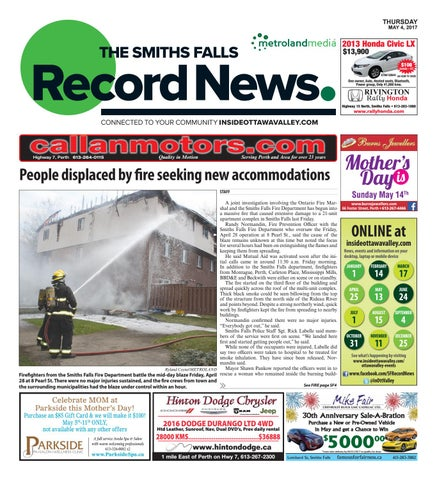 Smithsfalls050417 by metroland east smiths falls record news issuu page 1 fandeluxe Images