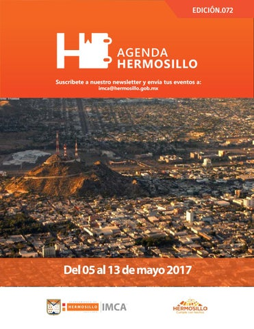"Cover of ""Agenda Hermosillo 05 mayo 2017"""