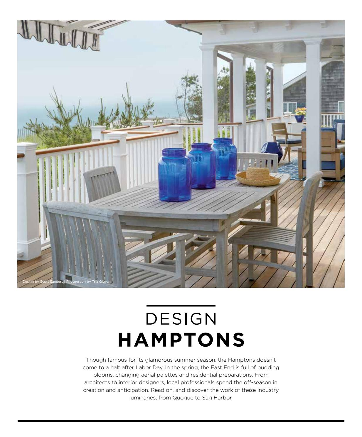 Luxe design hamptons