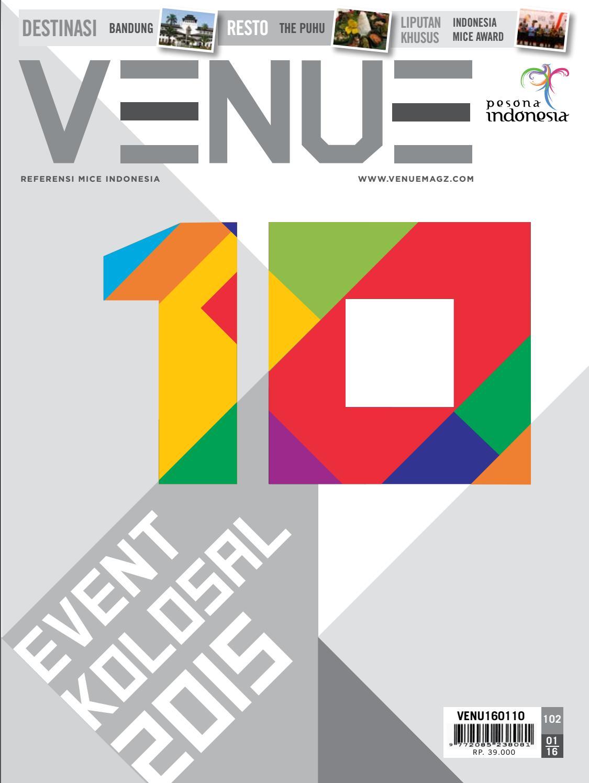 Majalah Venue Januari 2016 By Venuemagzcom Issuu Gelang Event Konser Running Wisata Air