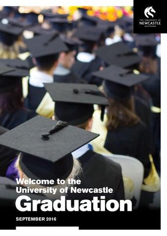 5cac1426a4 Callaghan Graduation Ceremonies - September 2016 by UON Graduation ...