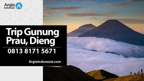 Wa 0813 8171 5671 Paket Wisata Gunung Prau Via Dieng By