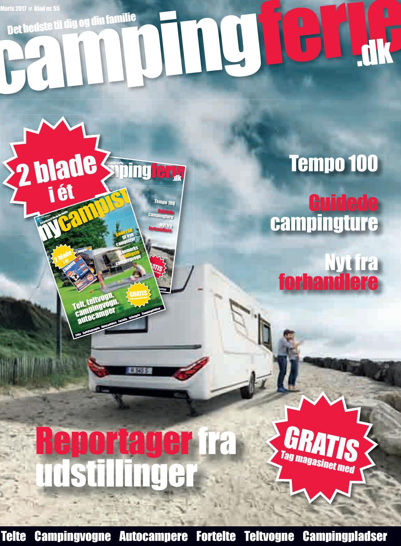 Campingferie blad 55 marts 2017 by Campingferie - issuu