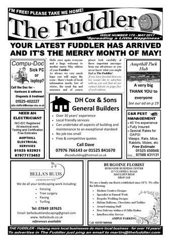 The Fuddler May 2017 by The Fuddler issuu