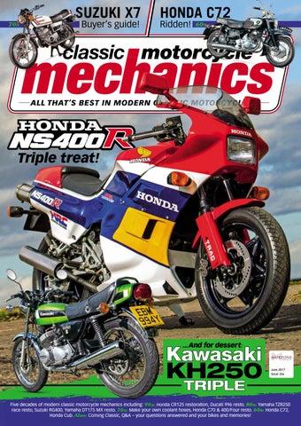 Classic Motorcycle Mechanics June 2017