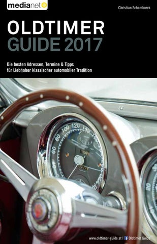 Oldtimer Guide 2017 by medianet - issuu