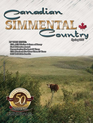 Canadian Simmental Country 2017 Spring Issue by Today's