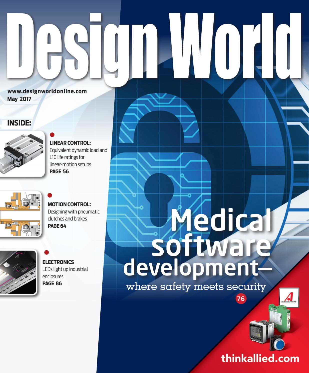 Design World May 2017 By Wtwh Media Llc Issuu Siemens S7 200 Xp Series Parallel Circuit Exercise 12 Youtube