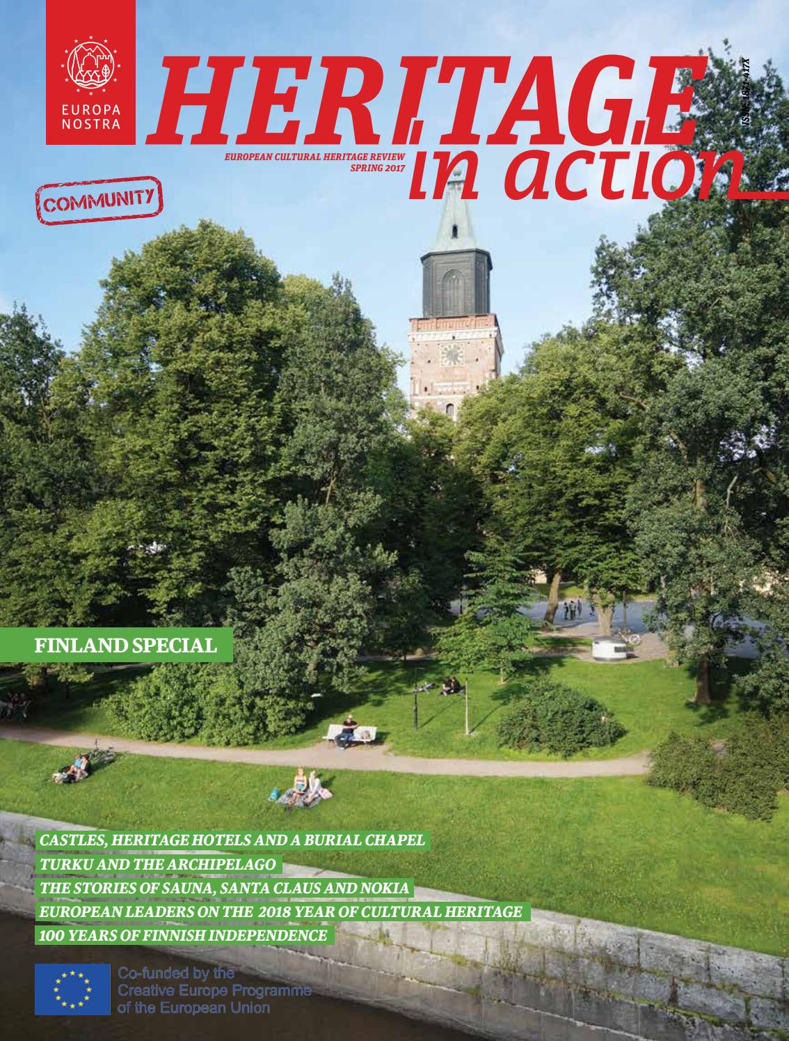 Heritage in Action Finland Special 2017 by Europa Nostra - issuu 6b2f2497611c