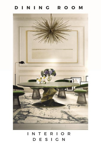 Dining Room Ideas Interior Design Trends 2018