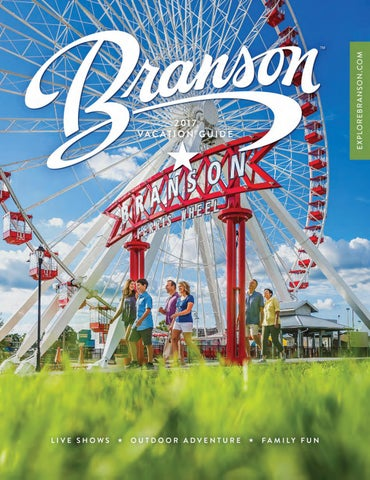 branson a guide to americas live music show capital tourist town guides