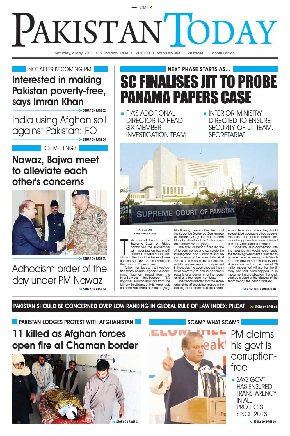 cute cheap authorized site classic style E paper pdf (6 05 2017) (lhr) by Pakistan Today - issuu