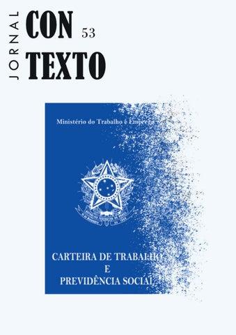 Jornal Contexto 53 by Jornal Contexto (DCOS UFS) - issuu 56d0da786e2