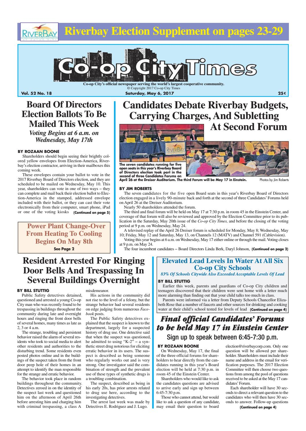 Co-op City Times 05/06/17 by Co-op City Times - issuu