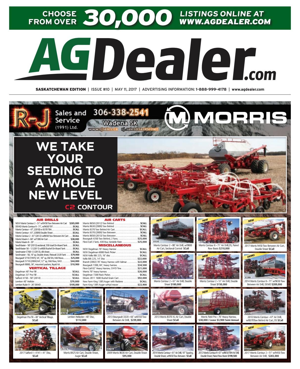 Wheel & Deal Saskatchewan, May 11, 2017 by Farm Business Communications  - issuu