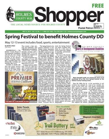Holmes County Hub Shopper May 6 2017 by GateHouse Media NEO issuu