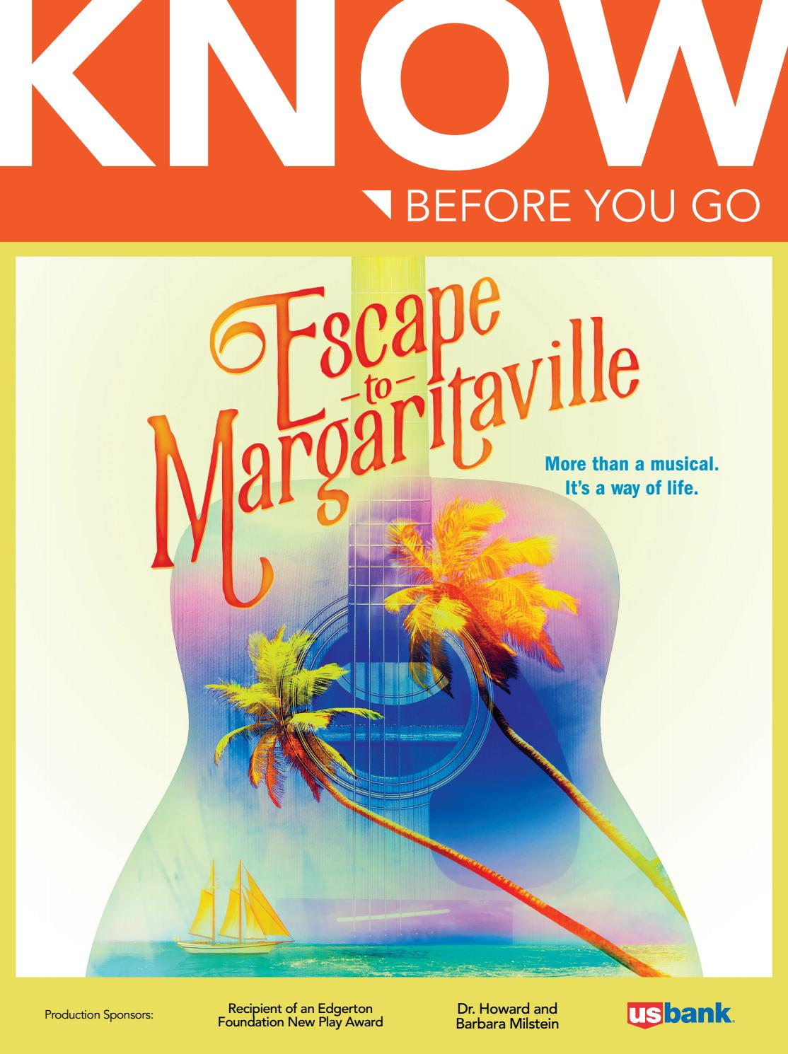 Escape To Margaritaville Know Before You Go By La Jolla Playhouse