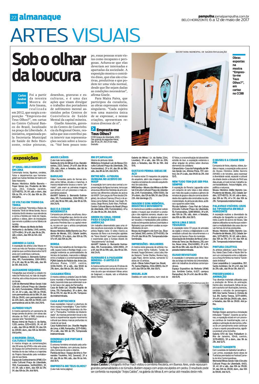 231c05efa Pampulha, sábado - 06/05/2017 by Tecnologia Sempre Editora - issuu