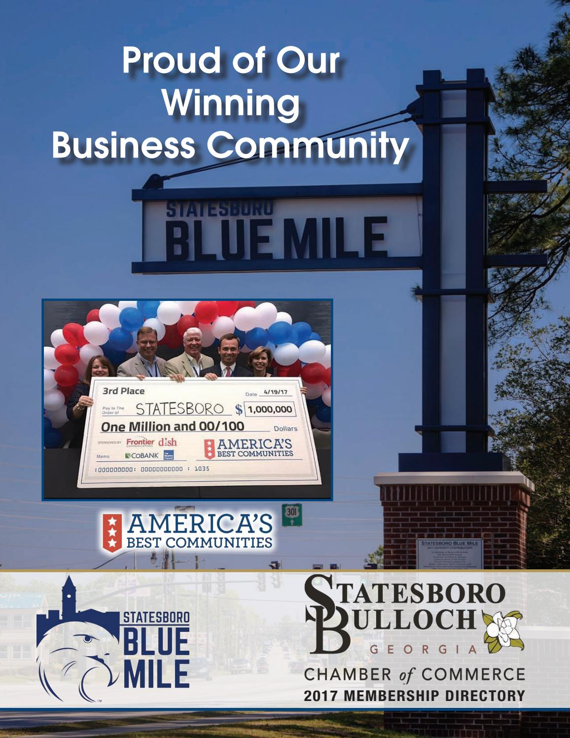 Chamber Of Commerce 2017 Membership Directory By Statesboro Herald