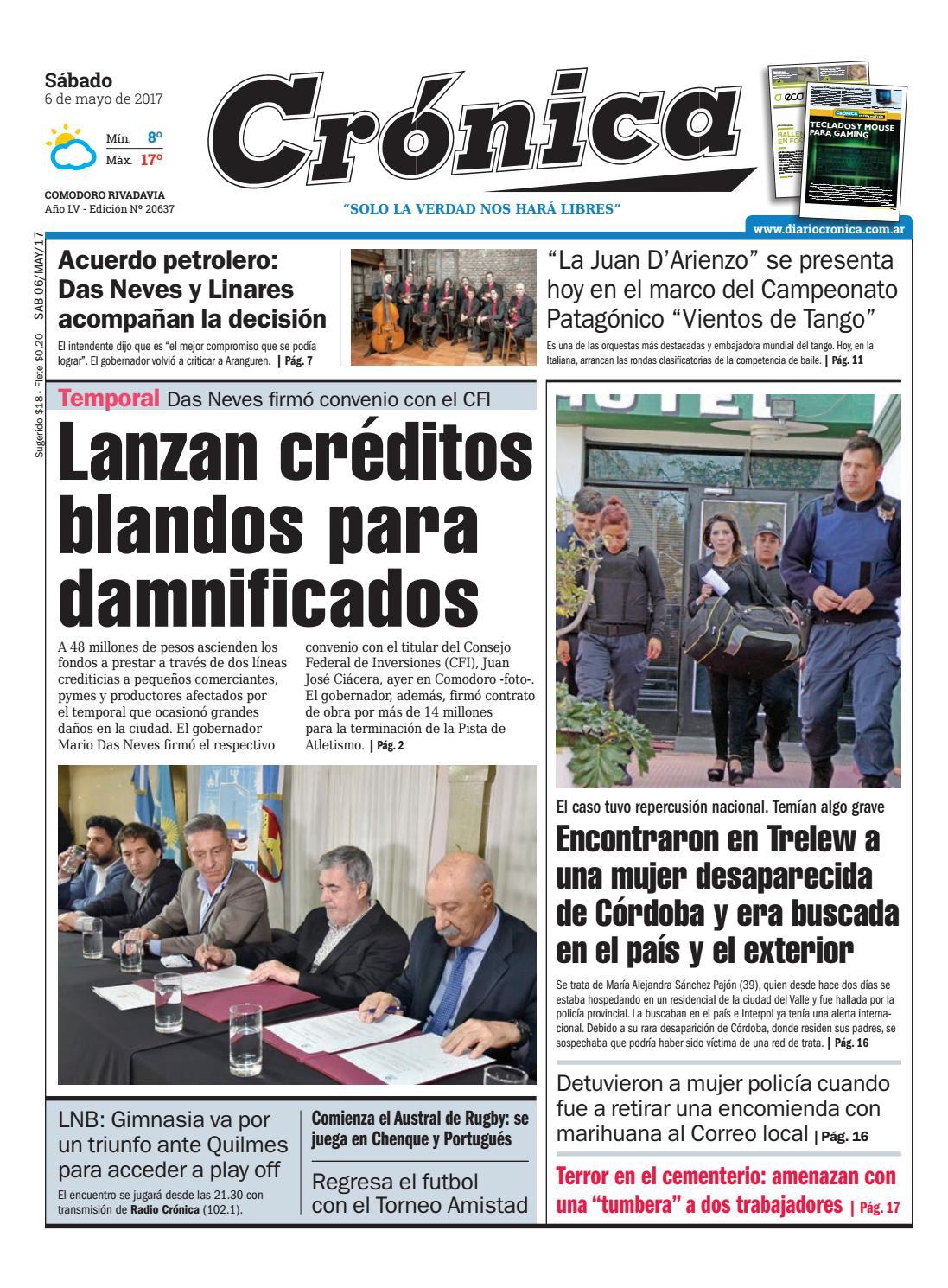 4ed44964ad12f2bf558d628699925dbc by Diario Crónica - issuu