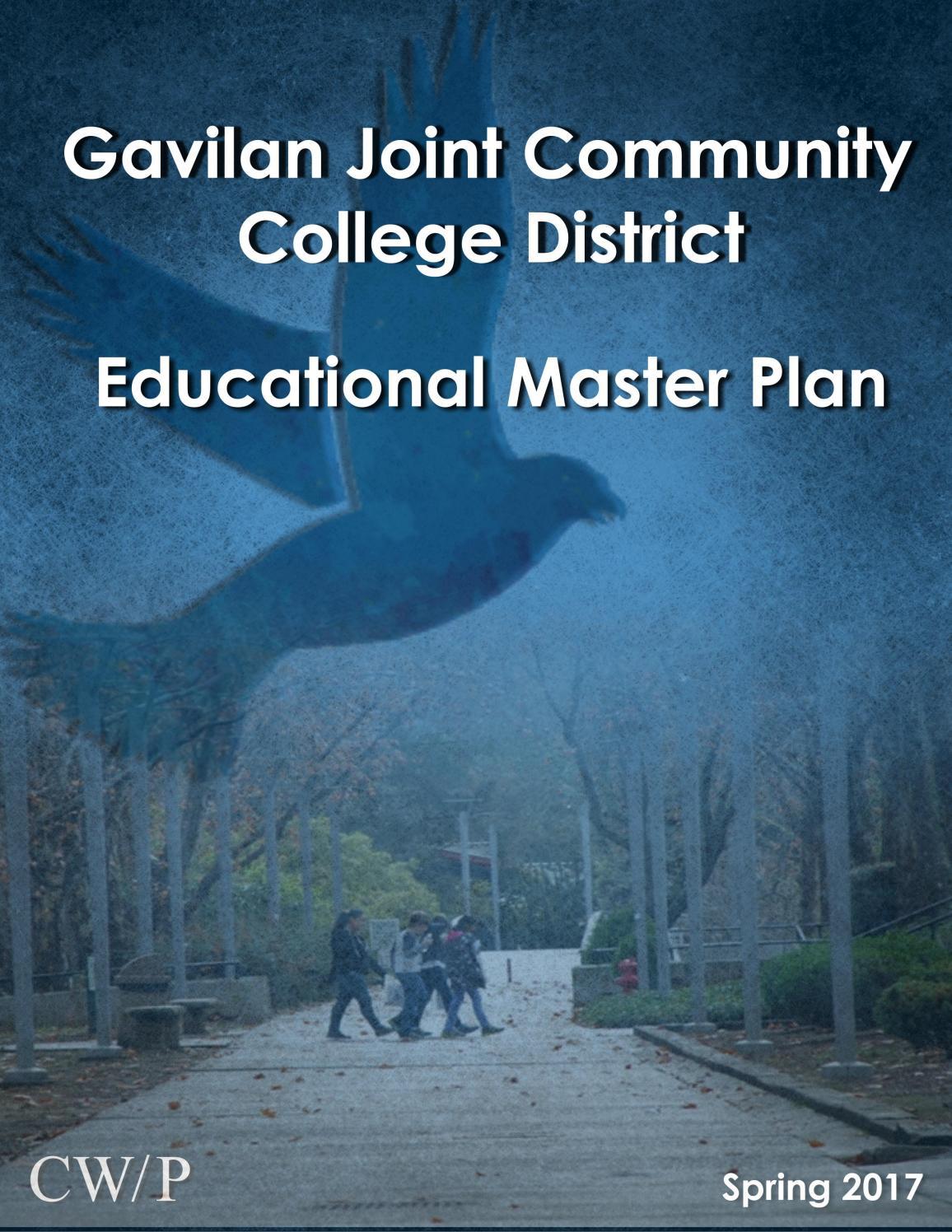 Gavilan College Educational Master Plan 2017 by Gavilan