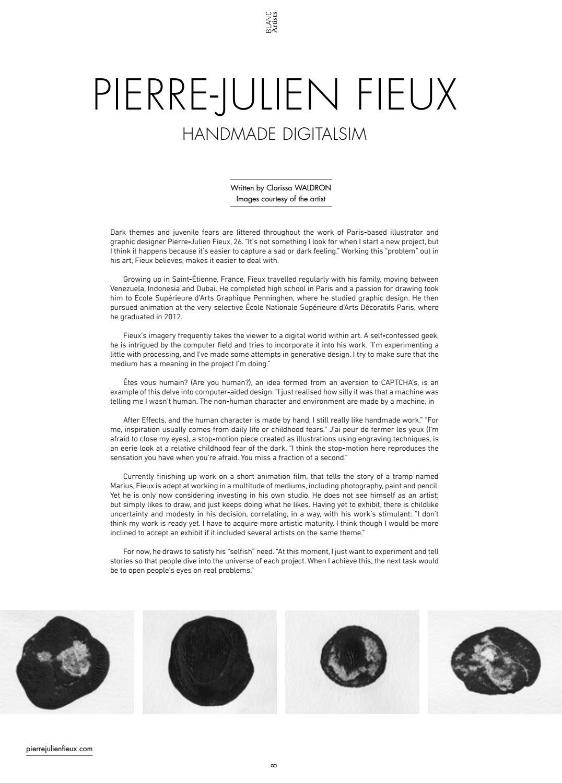 Blanc Magazine - Issue 3 by BlancMag - issuu